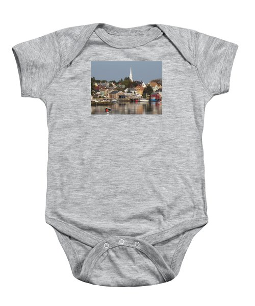 New Castle Harbor Nh Baby Onesie