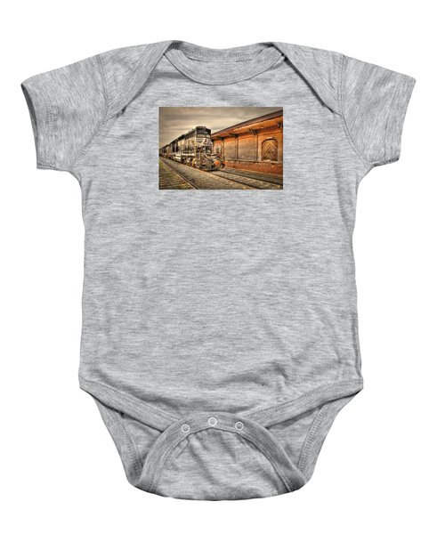 Locomotive 1637 Norfork Southern Baby Onesie