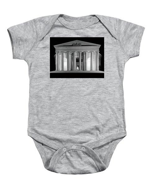 1960s Thomas Jefferson Memorial Lit Baby Onesie