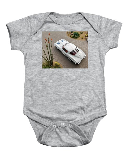 1963 Chevrolet Corvette Split Window -440c Baby Onesie