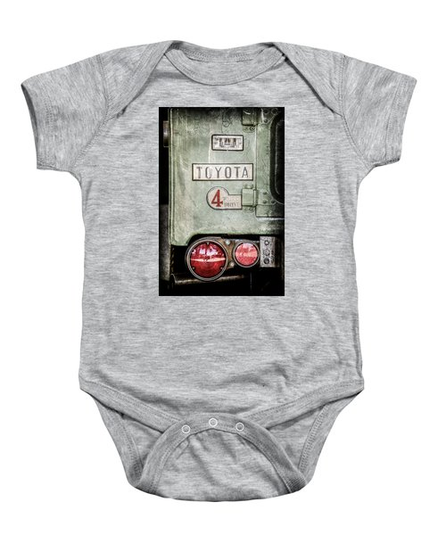 1969 Toyota Fj-40 Land Cruiser Taillight Emblem -0417ac Baby Onesie