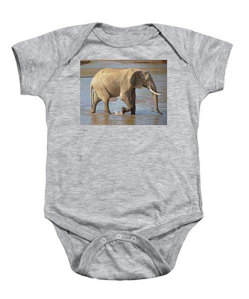 African Elephant Baby Onesie