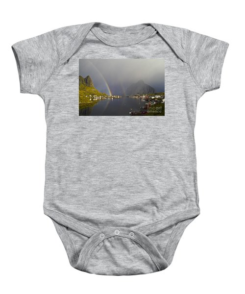After The Rain In Reine Baby Onesie