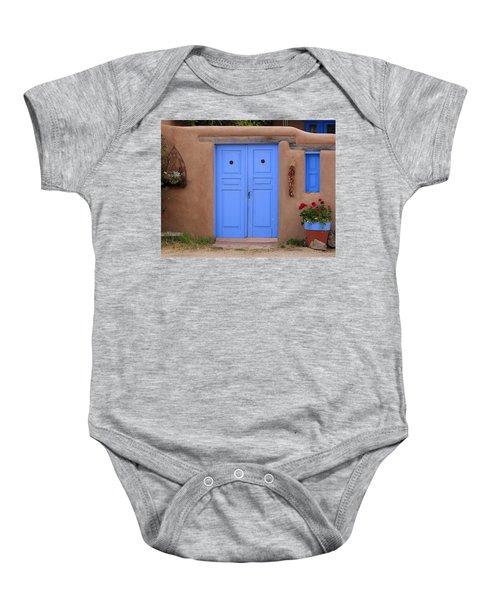 Blue Door Baby Onesie