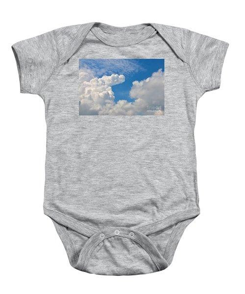 Clouds In The Sky Baby Onesie