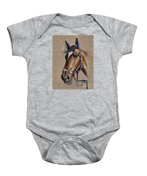 Horse Face - Drawing  Baby Onesie