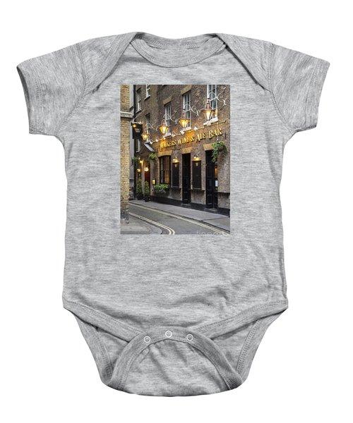 London Pub Baby Onesie