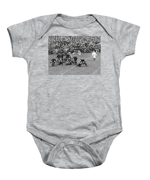 Notre Dame-army Football Game Baby Onesie by Underwood Archives