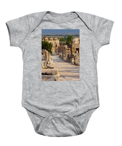 Ruins Of Ephesus Baby Onesie