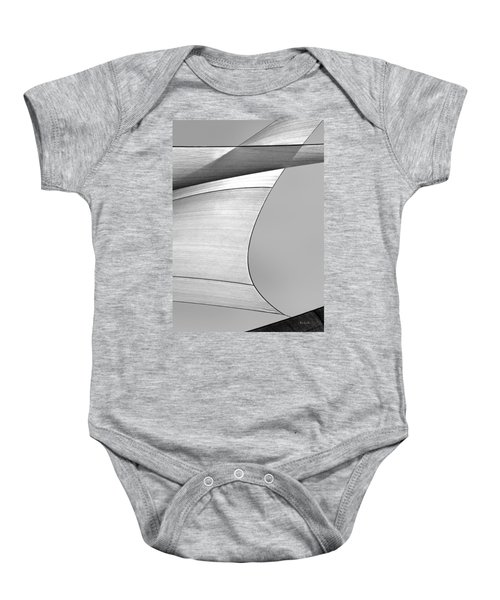 Sailcloth Abstract Number 4 Baby Onesie