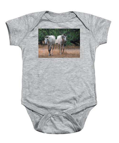 Salt River Wild Horse Baby Onesie