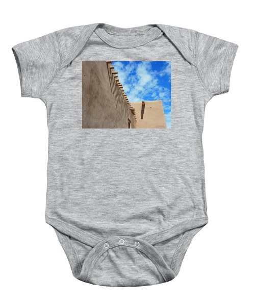 San Francisco De Asis Mission Church  Baby Onesie