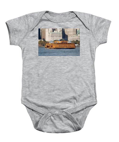Staten Island Ferry Baby Onesie