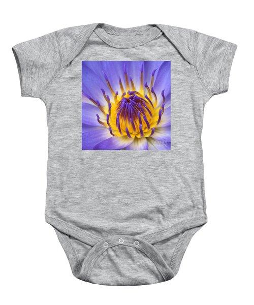 The Lotus Flower Baby Onesie