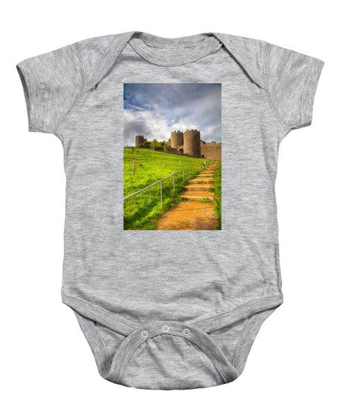 The Path Leadeth Me Home Baby Onesie