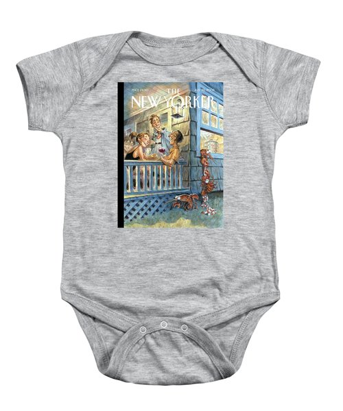 New Yorker July 28th, 2008 Baby Onesie