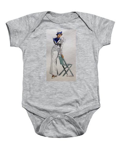 A Day At The Seashore 2 Baby Onesie