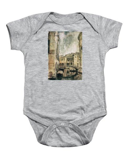 Venice Back In Time Baby Onesie