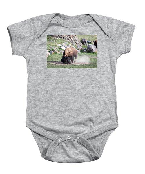 Yellowstone Bison Baby Onesie