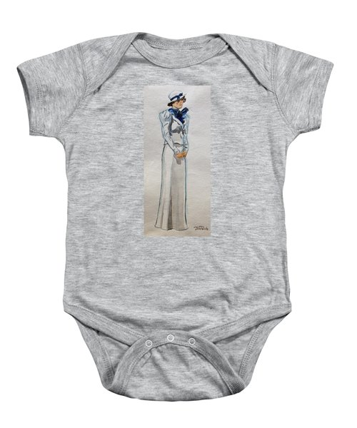 A Day At The Seashore 1 Baby Onesie