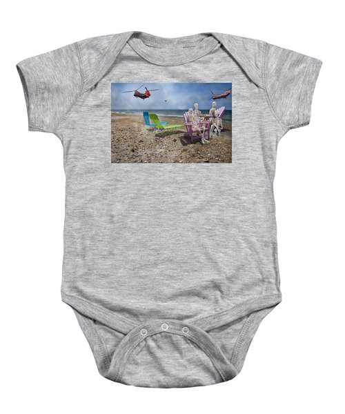 Search Party Baby Onesie by Betsy C Knapp