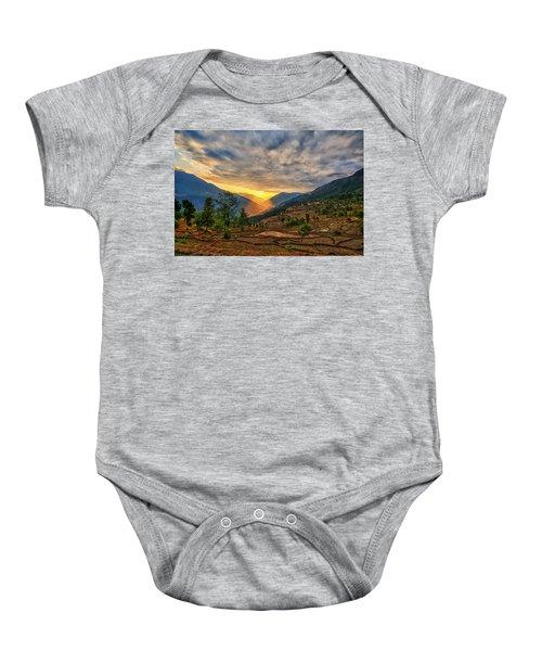 Kalinchok Kathmandu Valley Nepal Baby Onesie