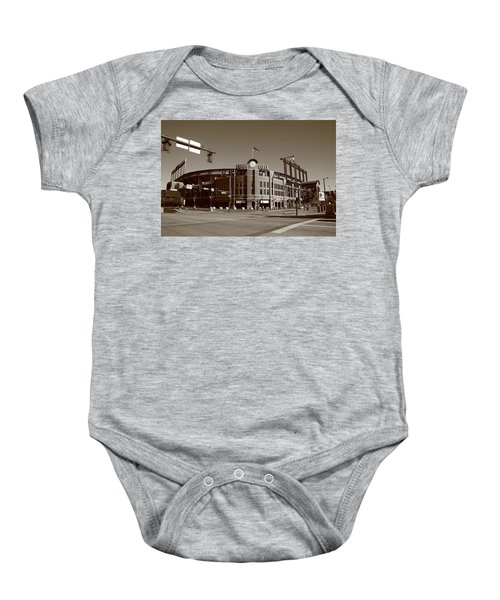 Baby Onesie featuring the photograph Coors Field - Colorado Rockies by Frank Romeo