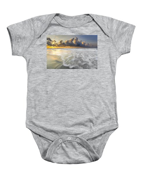 Sunrise On Hilton Head Island Baby Onesie