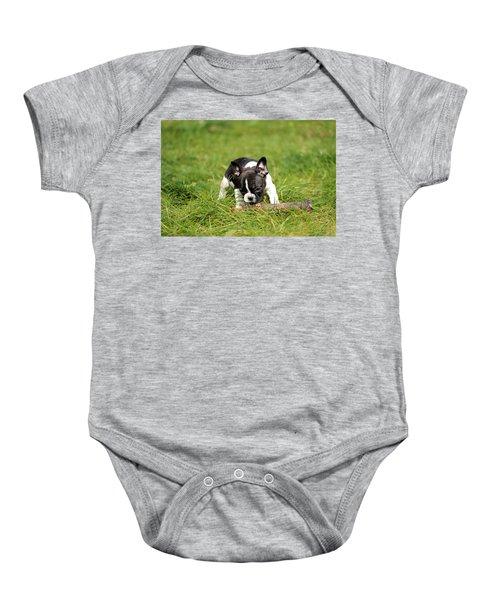 French Bulldoggs Baby Onesie