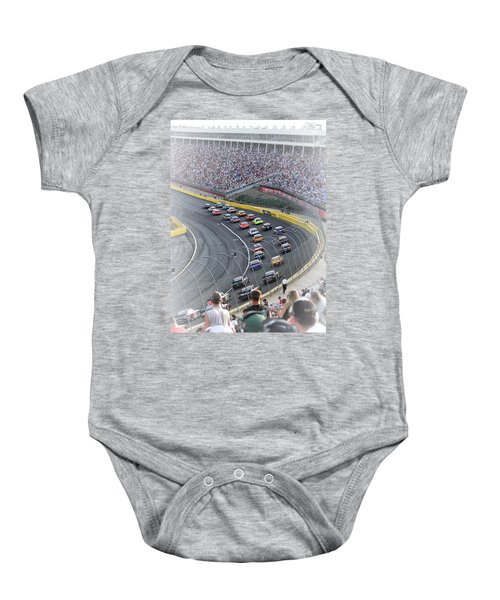 A Day At The Racetrack Baby Onesie