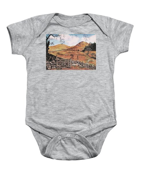 A Day In The Country Baby Onesie