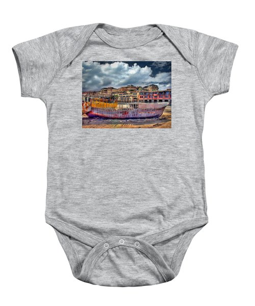 A Genesis Sunrise Over The Old City Baby Onesie