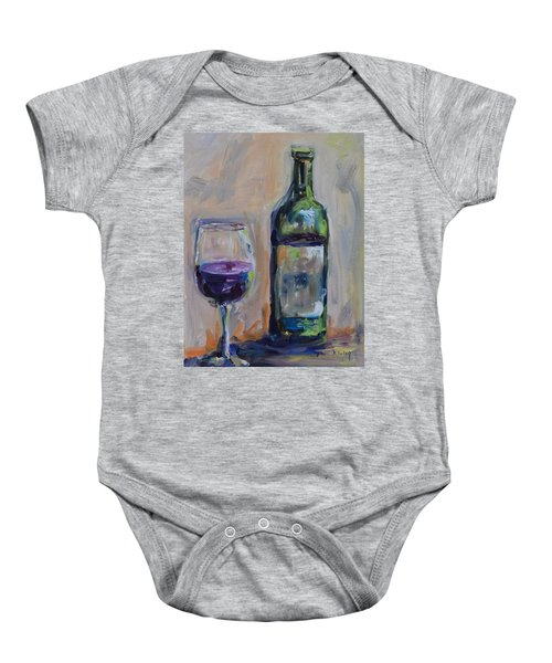 A Good Pour Baby Onesie