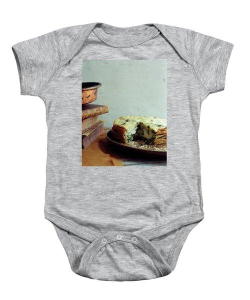 A Gourmet Torte Baby Onesie