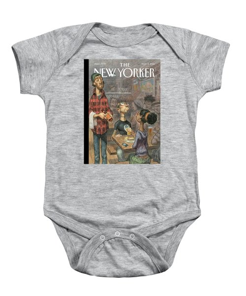 A Hipster Samples Craft Beer Baby Onesie