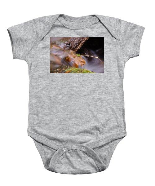 A Leaf Captured Baby Onesie