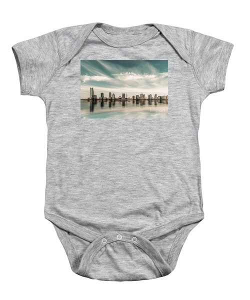 a look to New Jersey  Baby Onesie