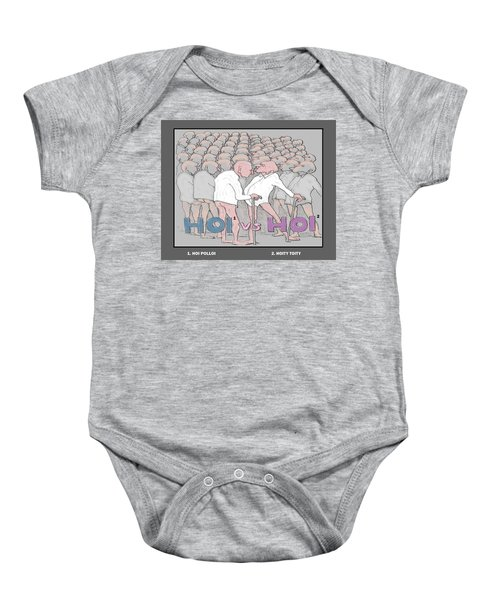 A Question Of Ego Baby Onesie