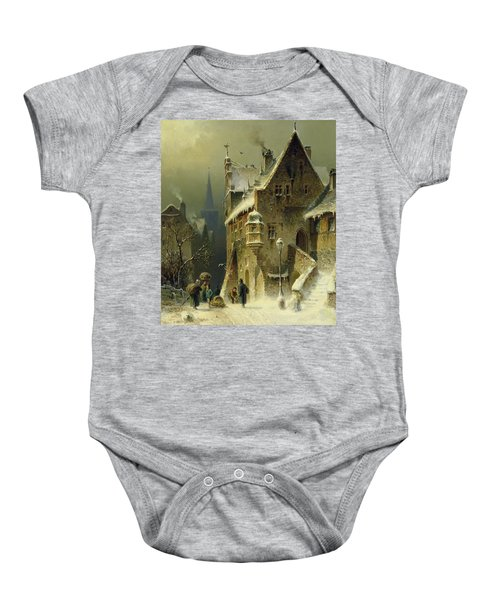 A Small Town In The Rhine Baby Onesie