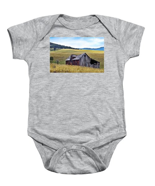 A Time In Montana Baby Onesie