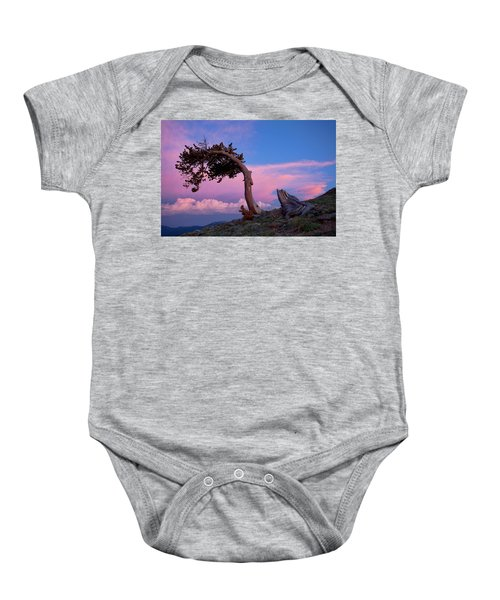 A Westerly Wind Baby Onesie