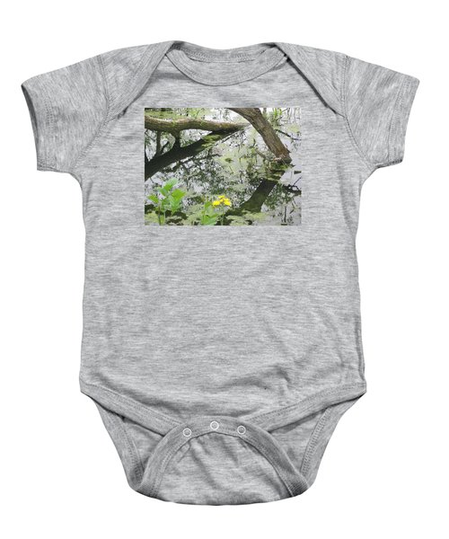 Abstract Nature 2 Baby Onesie