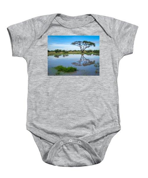 Acacia Tree Baby Onesie