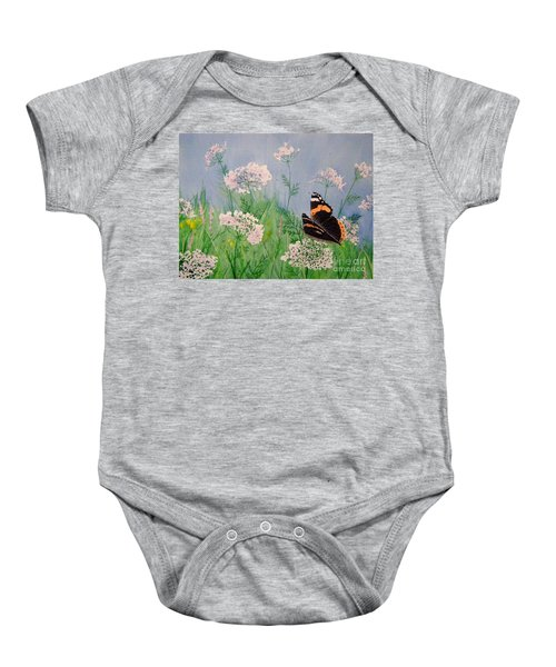 Admiral And Lace Baby Onesie