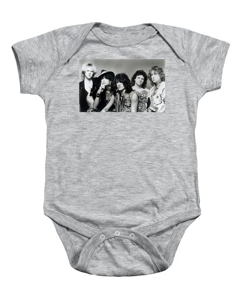 Aerosmith - What It Takes 1980s Baby Onesie by Epic Rights