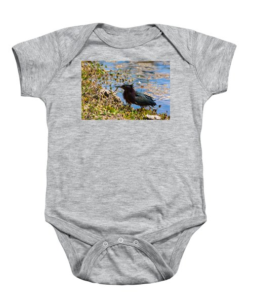 After Fishing Baby Onesie