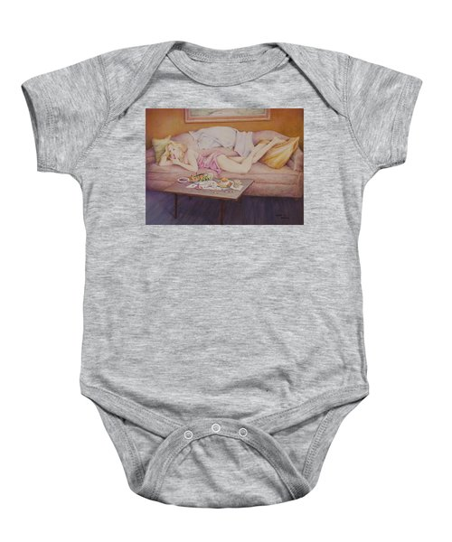 Lucky Couch Baby Onesie
