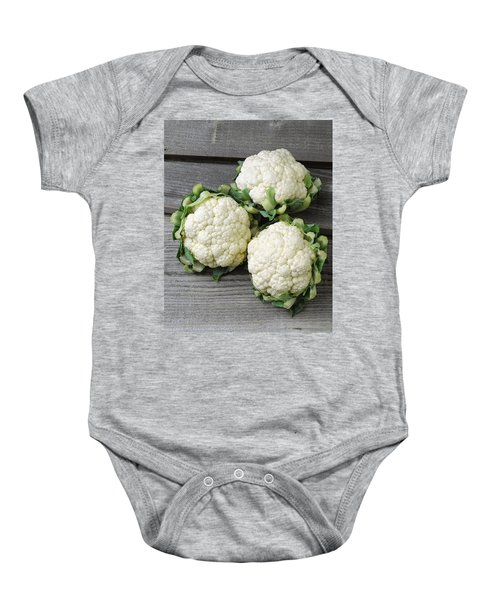 Agriculture - Fresh Heads Baby Onesie by Ed Young