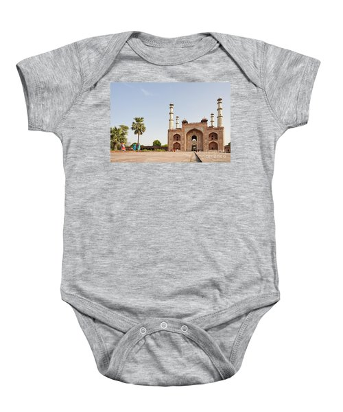 Akbar's Tomb In  India Baby Onesie