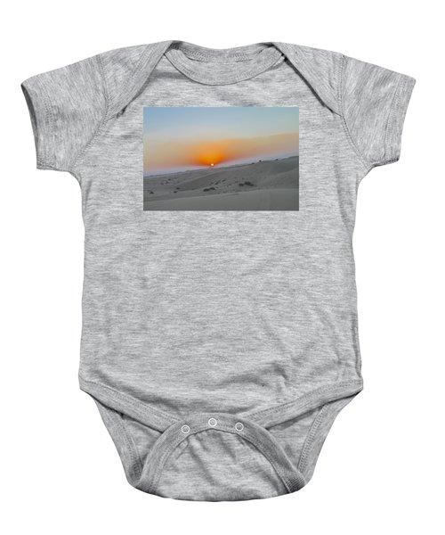 Al Ain Desert 12 Baby Onesie
